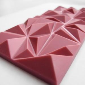 ¿Qué es el chocolate rosa?